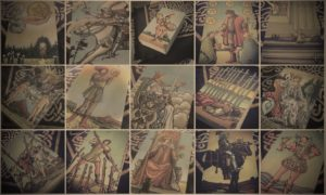Tarot Cards Background Image