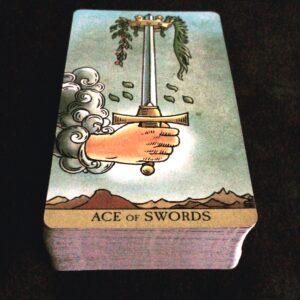 RWS Ace of Swords