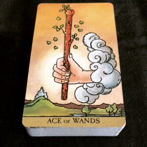 RWS Ace of Wands