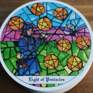 Cloisters Eight of Pentacles