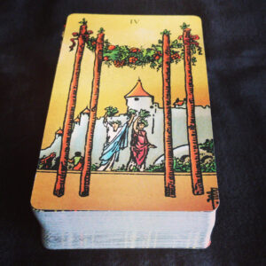 Four of Wands RWS