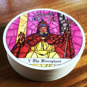 Tarot of Cloisters Hierophant