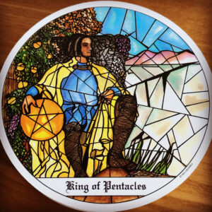 Cloisters King of Pentacles