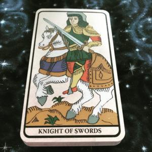 Knight of Swords