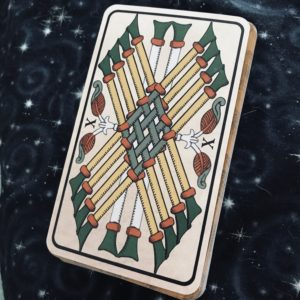 Pitisci Ten of Wands