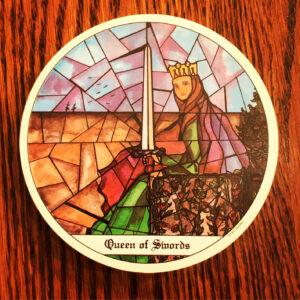 Queen of Swords Cloisters Tarot
