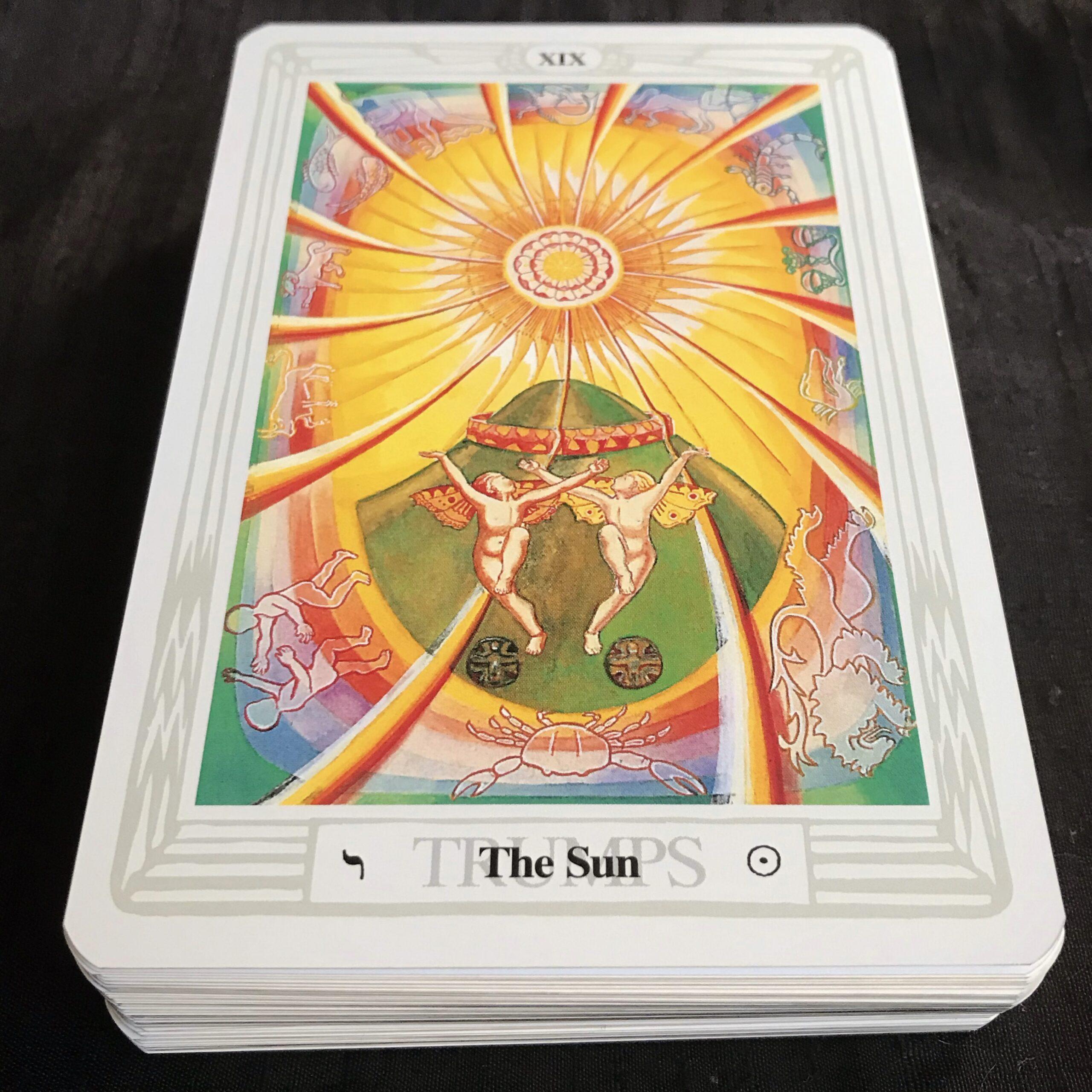 Thoth Sun Card
