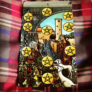 RWS Ten Pentacles
