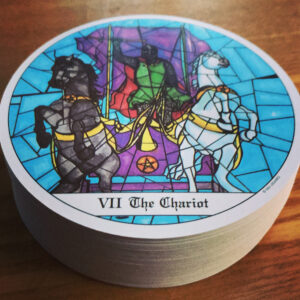 Cloisters Chariot Card