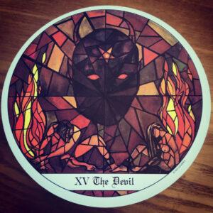 Cloisters Devil Card
