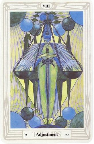 Thoth Card VIII Adjustment