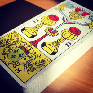 Marseille Deck Two of Cups